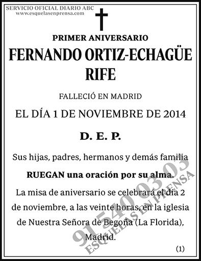 Fernando Ortiz-Echagüe Rife